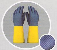 GUANTES DE LATEX Y NEOPRENE