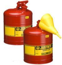 Bidones de chapa metalicos BIDONES PARA INFLAMABLES JUSTRITE 10101 METALICOS TIPO I - CAP. 1 Lts.