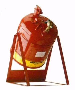 Bidones seguridad laboratorio BIDONES PARA LABORATORIO METALICOS JUSTRITE 10888 BASCULANTE CON COLUMPIO Y GRIFO 08902 - 19 Lts
