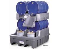 Sistema de Gestion de tambores MODULOS APILADORES PARA SISTEMA DE GESTION DE TAMBORES - COLOR AMARILLO JUSTRITE 28668 (Ex AK28903/AK28903Y) EcoPolyBlend™