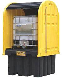 Cobertizos antiderrames almacenamiento inflamables for Cobertizo plastico