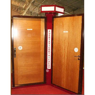 Puertas contra incendio puertas y portones c incendio for Puertas contra incendios
