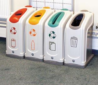 Contenedores de reciclaje para oficinas